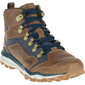 Merrell All Out Crusher Mid - Chaussures Homme - marron/bleu
